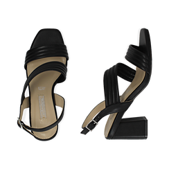 WOMEN SHOES SANDAL ECO-LEATHER NERO, PROMOTIONS, 152117607EPNERO036, 003 preview
