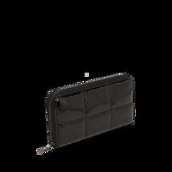 Portefeuille noir en vernis, Primadonna, 165122519VENEROUNI, 002a