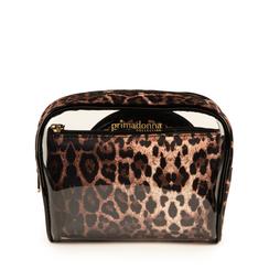 Neceser de pvc con estampado de leopardo, Primadonna, 155122895PVLEOPUNI, 001a