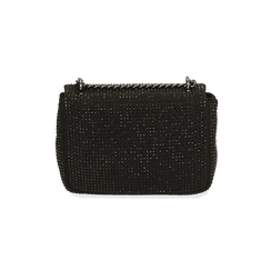 Borsa gioiello nera in microfibra, GIFT IDEAS, 165122995MPNEROUNI, 003 preview