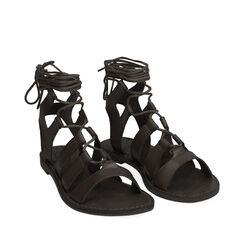 Sandalias gladiador negro, 175248103EPNERO037, 002a