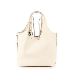 Shopper de ecopiel en color blanco, Bolsos, 155702557EPBIANUNI, 001a