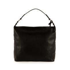 Maxi-bag de ecopiel en color negro, Bolsos, 153783218EPNEROUNI, 003 preview