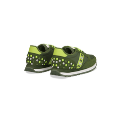 Sneakers verdi color block, Primadonna, 122618834MFVERD035, 005 preview