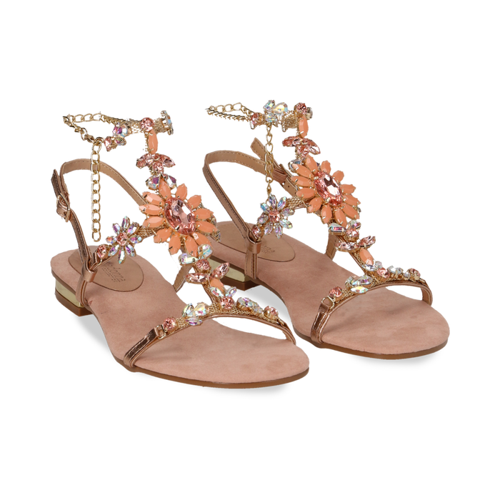 Collection Yomn8wvn0 Gioiello Nude Sandali Donnaprimadonna Flat SzVpMU
