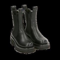 Bottes Chelsea noir, talon 5 cm, Primadonna, 167560723EPNERO036, 002a