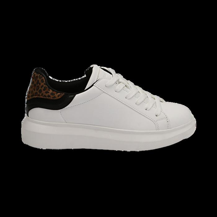 Sneakers bianco/leopard , Primadonna, 162602011EPBILE035