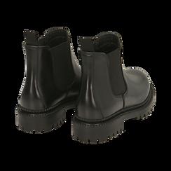 Chelsea boots neri in pelle, Primadonna, 16B811404PENERO038, 004 preview