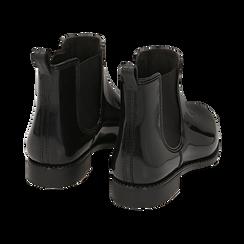 Stivali per la pioggia neri in pvc, Stivaletti, 148815144PVNERO036, 004 preview