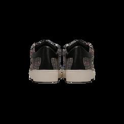 Sneakers Tweed con tacco basso, Primadonna, 122915602TSNEGR036, 003 preview