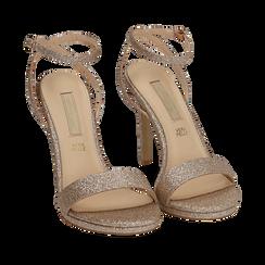 CALZATURA SANDALO GLITTER OROG, Chaussures, 152127401GLOROG035, 002a
