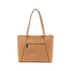 Maxi-bag nude in eco-pelle, Primadonna, 155768941EPNUDEUNI, 003 preview