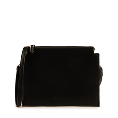 Pochette noir en simili-cuir, Sacs, 155122634EPNEROUNI, 001a