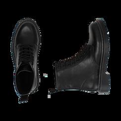 Botas militares en color negro, Primadonna, 162801501EPNERO035, 003 preview