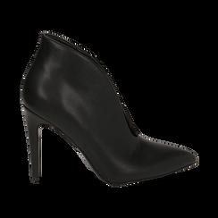 Ankle boots neri, tacco 10,50 cm , Primadonna, 162123746EPNERO036, 001 preview
