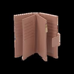 Portefeuille nude en microfibre, Sacs, 155122158MFNUDEUNI, 003 preview