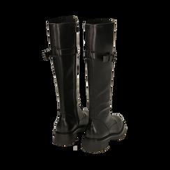 Boots à lacets noirs, Primadonna, 163003608EPNERO037, 003 preview