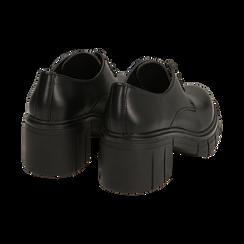 Oxford en color negro, tacón 5 cm , Promozioni, 160621175EPNERO037, 004 preview
