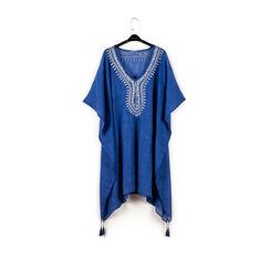 Caftan en tissu bleu, Primadonna, 150500006TSBLUEUNI, 003 preview