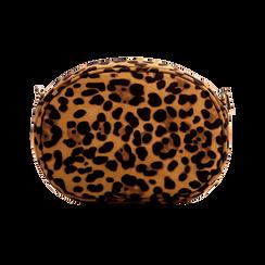 Tracollina keopard in microfibra con oblò dorati, Primadonna, 123308609MFLEOPUNI, 002 preview
