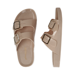 Zeppe beige in pvc, Primadonna, 130902002PVBEIG036, 003 preview