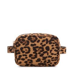 Marsupio leopard in microfibra, Borse, 133322210MFLEOPUNI, 001a