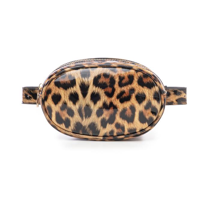 Marsupio leopard in vernice, Primadonna, 145100843VELEOPUNI