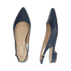 Slingback blu, Scarpe, 174992012EPBLUE036, 003 preview
