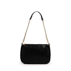 Petit sac porté épaule noir en simili-cuir, Primadonna, 155127201EPNEROUNI, 001a