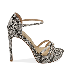 WOMEN SHOES SANDAL EP-PYTHON BINE, Chaussures, 152118123PTBINE036, 001a