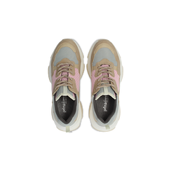 Sneakers beige dad shoes, Scarpe, 124180229TSBEIG, 004 preview