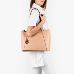 Maxi-bag nude, Borse, 155768941EPNUDEUNI, 002a