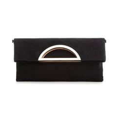 Pochette estensibile nera in microfibra , Borse, 135700150MFNEROUNI, 001 preview