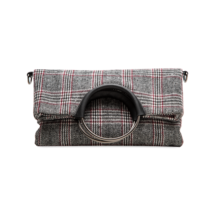 Pochette in tweed, Borse, 122900122TSNEGRUNI