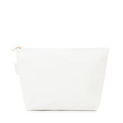 Pochette mare bianca in tessuto , Primadonna, 133322281TSBIANUNI, 001a