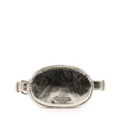 Marsupio argento stampa vipera, Primadonna, 155100843EVARGEUNI, 001a