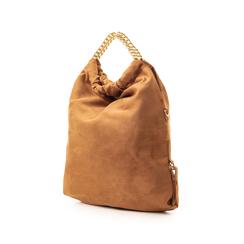 Maxi-bag marrone in microfibra , Borse, 132403282MFMARRUNI, 004 preview