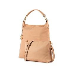 Maxi-bag nude in microfibra, Borse, 15D208513MFNUDEUNI, 004 preview