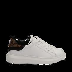 Zapatillas color blanco/leopardo, Primadonna, 162602011EPBILE037, 001a