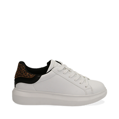 Sneakers bianco/leopard , Primadonna, 162602011EPBILE037, 001a