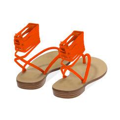 Sandali lace-up arancio in lycra, Primadonna, 174982380LYARAN035, 004 preview