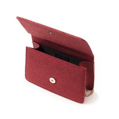 Borsa rossa glitter, Primadonna, 145122414GLROSSUNI, 004 preview