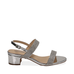 WOMEN SHOES SANDAL MIRROR ARGE, Chaussures, 154942401SPARGE035, 001a