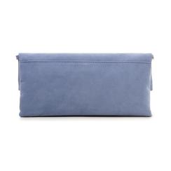 Pochette estensibile azzurra in microfibra , Borse, 135700150MFAZZUUNI, 003 preview