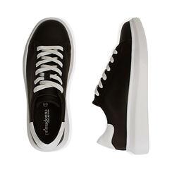 Sneakers nero/bianco , Scarpe, 172602009EPNEBI035, 003 preview