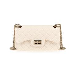 Mini-bag matelassé bianca in pvc, Borse, 15C809988PVBIANUNI, 001 preview