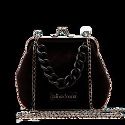 Pochette vintage in nero, Saldi Borse, 122701280MFNEROUNI, 001a