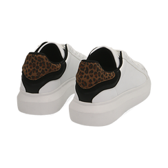 Sneakers bianco/leopard , Primadonna, 162602011EPBILE035, 004 preview