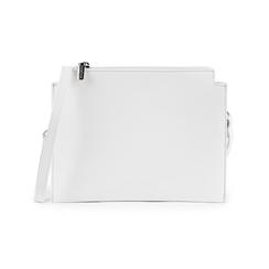 Bolsita en eco-piel color blanco, Bolsos, 155122634EPBIANUNI, 001 preview