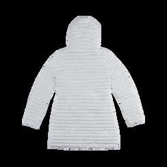 Piumino Bianco Donna Lungo con Cappuccio, Abbigliamento, 128500502TSBIAN, 006 preview